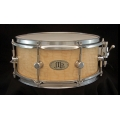 "5.5"" x 13 1/2"" Soft Figured Maple Stave Snare Drum"