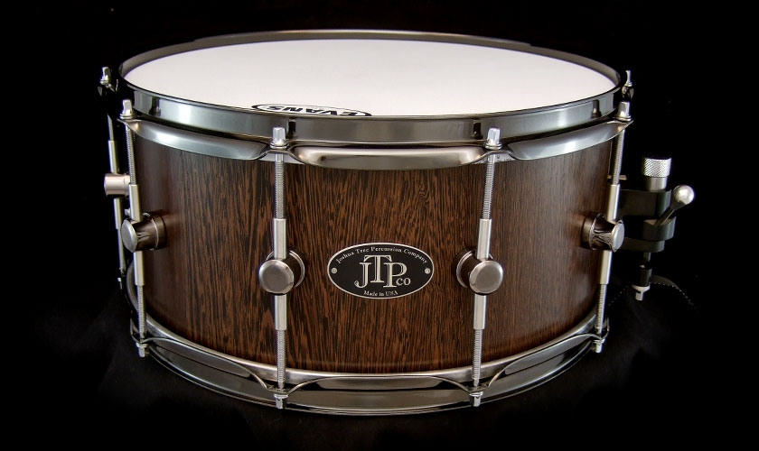 6 1 2 x 14 wenge stave snare drum. Black Bedroom Furniture Sets. Home Design Ideas