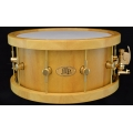 "6 1/2"" x 14"" Yellowheart Stave Snare Drum"
