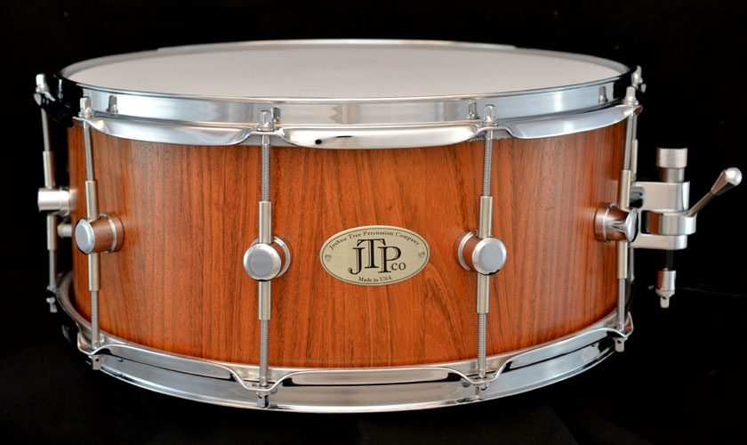 6 1 2 x 15 jatoba stave snare drum. Black Bedroom Furniture Sets. Home Design Ideas