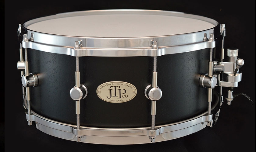 6 x 14 jatoba dyed black stave snare drum. Black Bedroom Furniture Sets. Home Design Ideas